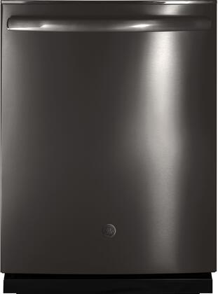 GE GDT655SBLTS 24 Inch Built In Fully Integrated Dishwasher with 4 Wash Cycles, 16 Place Settings, Hard Food Disposer, in Black Stainless Steel