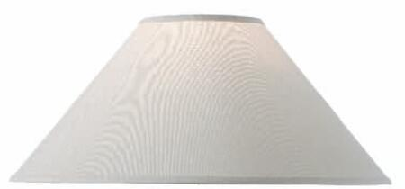 900-054 Natural Linen Round Lamp Shade