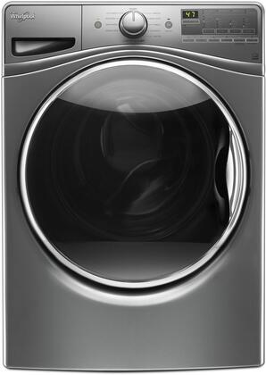 """WFW85HEFC 27"""""""" Front Load Washer with 4.5 cu. ft. Capacity  TumbleFresh Option  ColorLast Cycle  PreSoak Option  EcoBoost Option  Steam Clean and Adaptive Wash"""" 713308"""