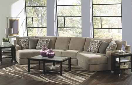 Malibu Collection 3239-92-29-96-1983-36/2736-48/2737-28 194 inch  3-Piece Sectional with Left Arm Facing Piano Wedge  Armless Loveseat and Right Arm Facing Piano
