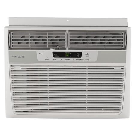 "FFRA1022R1 19"" Window-Mounted Air Conditioner with 10000 BTU Cooling  Quick Cool & Quick Warm  Multi-Speed Fan  Sleep Mode and Remote Control in"