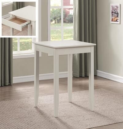 Accera Collection P2-205 42 inch  High Square Pub Table with Drawers  Tapered legs  Adjustable Leg Levelers in