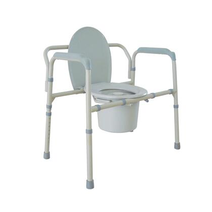11117n-1 Heavy Duty Bariatric Folding Bedside Commode