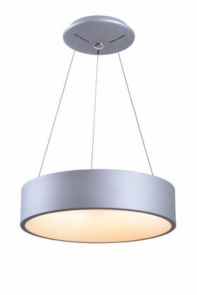 Revolution 94103SIL 27 Watt LED Pendant Ceiling Light with 27 Watt LED  1440 Lumens; 2800-3000K Color Temp; 90+ CRI in Silver