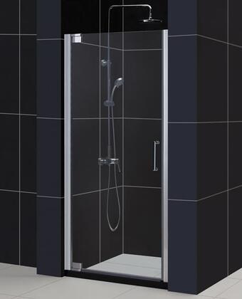 SHDR-4146720-01 Elegance 46 to 48 Frameless Pivot Shower Door  Clear 3/8 Glass Door  Chrome 332645
