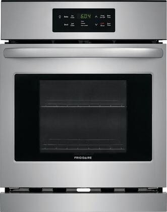 Frigidaire FFEW2426US 24 Inch 3.3 cu. ft. Total Capacity Electric Single Wall Oven with 2 Oven Racks, in Stainless Steel