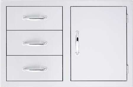 SSDC3 Door/ 3- Drawer