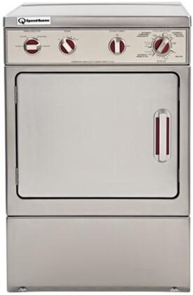 ADE41F 7 cu.ft Electric Dryer with Front Control Heavy-Duty 220 cfm Exhaust Fan  Automatic Dry Cycles and Extended Tumble in Stainless
