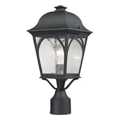 8301EP/65 Cape Ann 1 Light Outdoor Pendant Lantern In Matte Textured