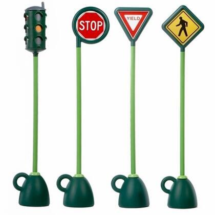 9402C Traffic Signs 4 Pc Signage