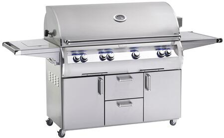 E1060S-4EAP-62 Echelon Diamond Series Standalone Gas Grill with 1056 sq. in. Cooking Area  Rotisserie Backburner  4 E Burners  Storage Drawers  and Analog