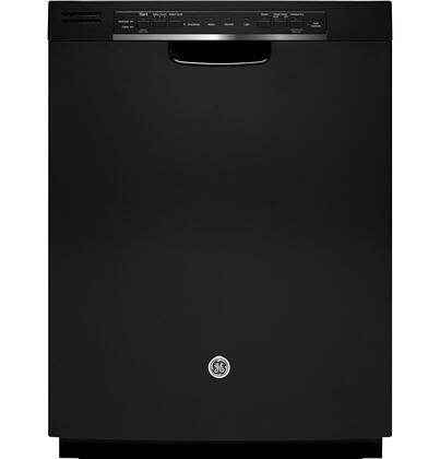 "GE 24"" Tall Tub Built-In Dishwasher Black GDF570SGJBB"