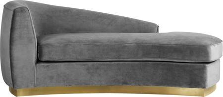 Julian Collection 620Grey-Chaise 70