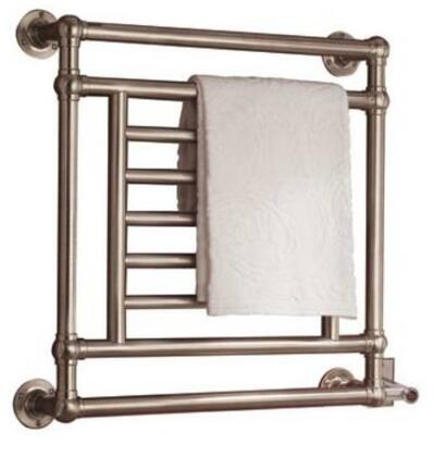 EB31-1-PC Salmon Traditional Electric Towel Warmer: Polished