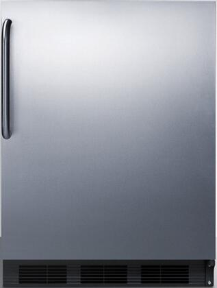 CT66BCSS 24 inch  CT66JBI Series Medical Freestanding or Built In Compact Refrigerator with 5.1 cu. ft. Capacity  Interior Lighting and Zero-Degree Freezer