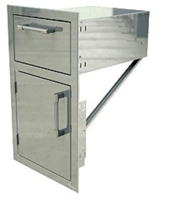 AXEDDRL 17 inch  Drawer with Door Open