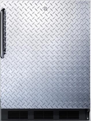 FF7LBLBIDPLADA 24 inch  FF7BIADA Series ADA Series Medical  Commercial Freestanding or Built In Compact Refrigerator with 5.5 cu. ft. Capacity  Lock  Adjustable