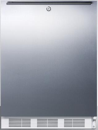 FF7BISSHHADA 24 inch  FF7BIADA Series ADA Compliant  Medical  Commercially Approved Freestanding or Built In Compact Refrigerator with 5.5 cu. ft. Capacity