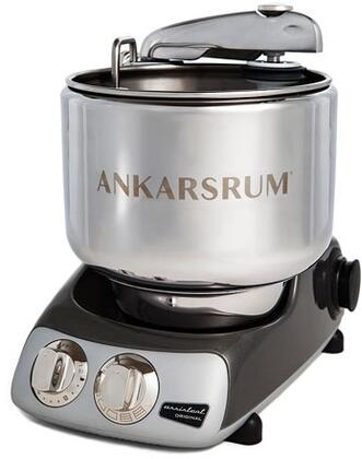 AKM6230BC Ankarsrum Original Mixer with 7 Liter Stainless Steel Bowl  3.5 L Double Whisk Bowl  Dough Hook  Roller  Scraper  Spatula  Dust Cover  Cookie Beaters