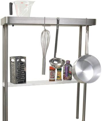 "PR-30 High Shelf with Pot Rack and Light for Alfresco Main Sink System  (Only Letter ""E"" From Image Included and Sink Sold"