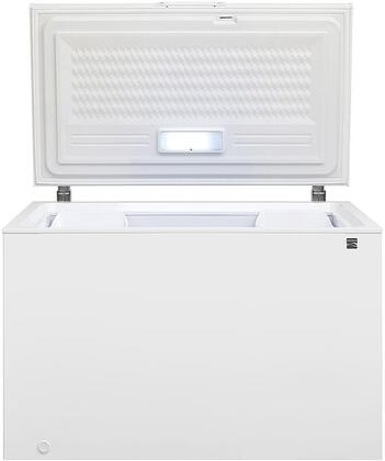 17112 50 Chest Freezer with 12.8 cu. ft. Capacity. Door Lock  LED Lighting  Two Storage Baskets and Power Indicator Light in