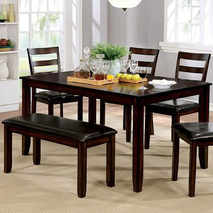 Click here for Gloria CM3331T-6PK 6 Pc. Dining Table Set with Tra... prices