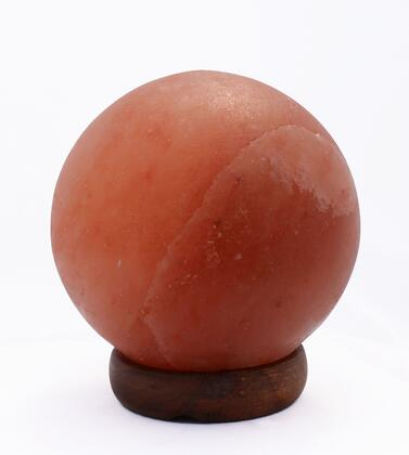 AMC95003-7 7 inch  Sphere Shaped Himalayan Salt Lamp 1.7 with