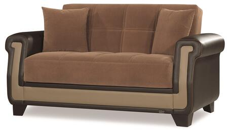Proline Collection PROLINE LOVE SEAT BROWN 27-55 66