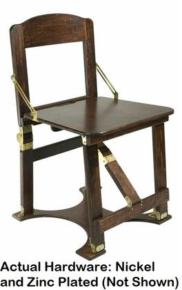 CCHAIR-M Hand Crafted Custom Finished Folding Chair in