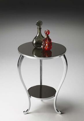 2880220 Modern Expressions Collection Accent Table in Polished Aluminum