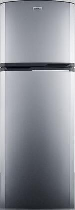 Summit FF948SS 8.8 cu.ft. Frost-Free Refrigerator-Freezer In Slim 22 Width For Small Kitchens, Stainless Steel