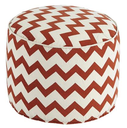 Chevron A1000427 Pouf with Vibrant Chevron Pattern Zigs and Zags in 498454
