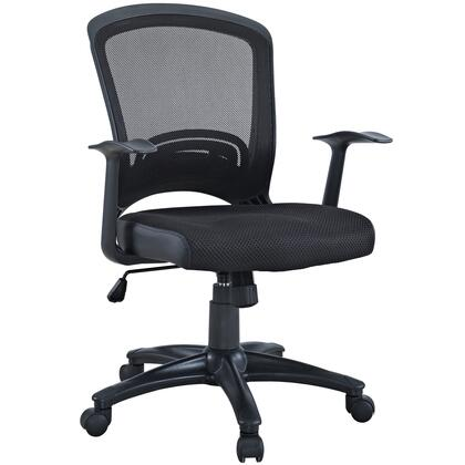 EEI-758-BLK Pulse Mesh Office Chair in Black