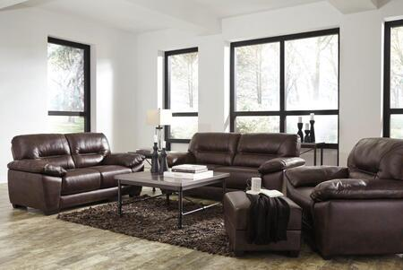 Mellen Collection 17401SLCO 4-Piece Living Room Set with Sofa  Loveseat  Chair and Ottoman in