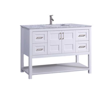 -2148W Norway 48 Single Sink Bathroom Vanity Set