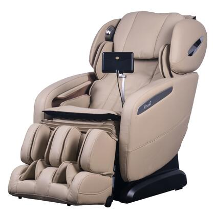 OS-Pro-Maxim IVORY Massage Chair with SL Track Roller  12 Auto-Programs  6 Massage Styles  Zero Gravity Position  Multi-Language Option and Hip Air Massage in