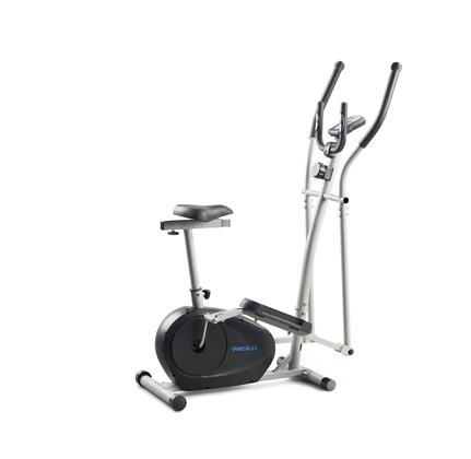 WLEL32112 Momentum G 3.2 Hybrid Trainer with Dual-Grip EKG Heart Rate Monitor  8 Workout Apps  Adjustable Manual Intensity  Functions as