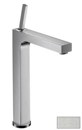 39020421 Axor Citterio Bathroom Vessel Faucet with Pop-Up Drain: