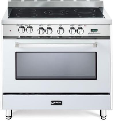 Verona VEFSEE365W 36 All Electric Range Single Oven Convection True White