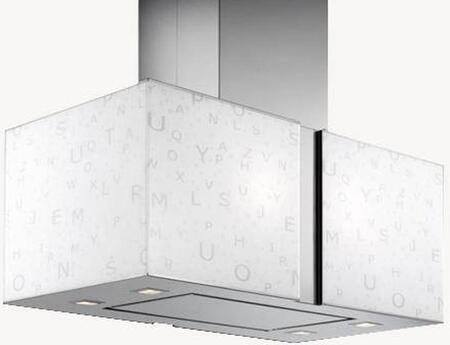 IS27MURALFA 27 inch  Murano Zebra Series Range Hood with 940 CFM  4-Speed Electronic Controls  Delayed Shut-Off  Filter Cleaning Reminder  Internal Whisper-Quiet