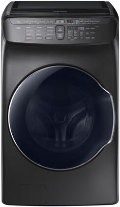 Samsung 5.5 Cu. Ft. Black Stainless Steel FlexWash Washer