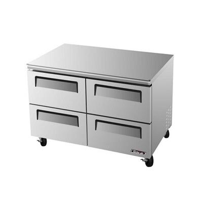 TUF48SDD4 4 Drawers Super Deluxe Series Undercounter Freezer with 12 cu. ft. Capacity  Efficient Refrigeration System  Stainless Shelves and Hot Gas Condensate