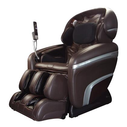 OS-7200CR-B Massage Chair with Zero Gravity Recline  Quad Roller Head Massage System  48 Air Bag Massage  Chromotherapy Lighting and Multi-Layer Pillow and