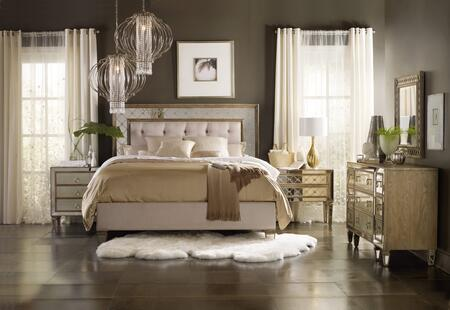 5414-90866KBNCD 4-Piece Sanctuary Collection Bedroom Set with King Size Bed + Nightstand + Chest + Dresser  in