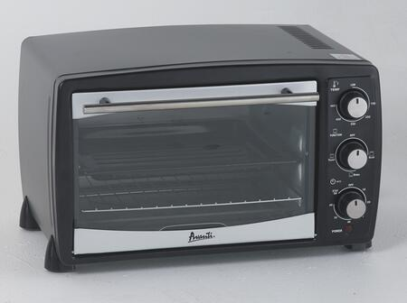 PO81BA 19 inch  Countertop Oven/Broiler with .8 cu. ft. Capacity  Auto Shut-Off  60 Minute Timer Control  Slide-Out Rack  and Crumb Tray  in