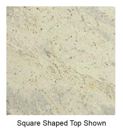 G20824x30 24 inch  x 30 inch  Rectangular Natural Granite Tabletop in Kashmir