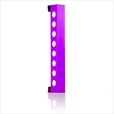 VB8BBP Bead Blast Vertical Wine Rack With Modern and Inovative Designs  Vertically Mounted & In