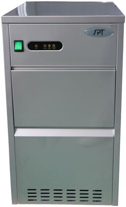 SZB-20 Automatic Flake Ice Maker with 66 lb Daily Production  7 lbs Storage Capacity  in Stainless