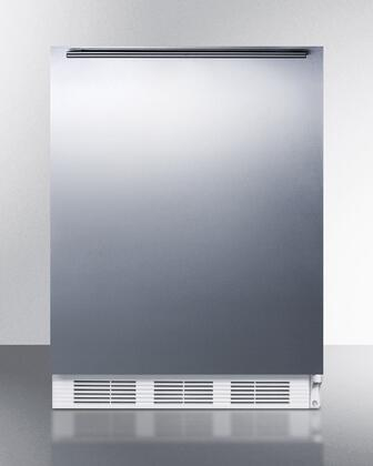 FF6BI7SSHHADA 24 inch  ADA Compliant Commercial All-Refrigerator with Automatic Defrost  Adjustable Shelves  Fruit and Vegetable Crisper  and Interior Light:
