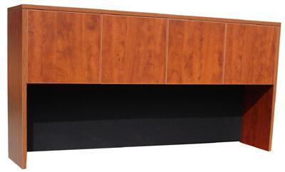 "N140-C 66"" Four Door Hutch with 3mm PVC Edge Banding in"